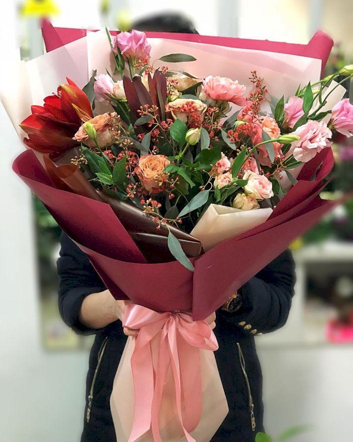 Цветочный магазин стильных букетов, цветы интернету