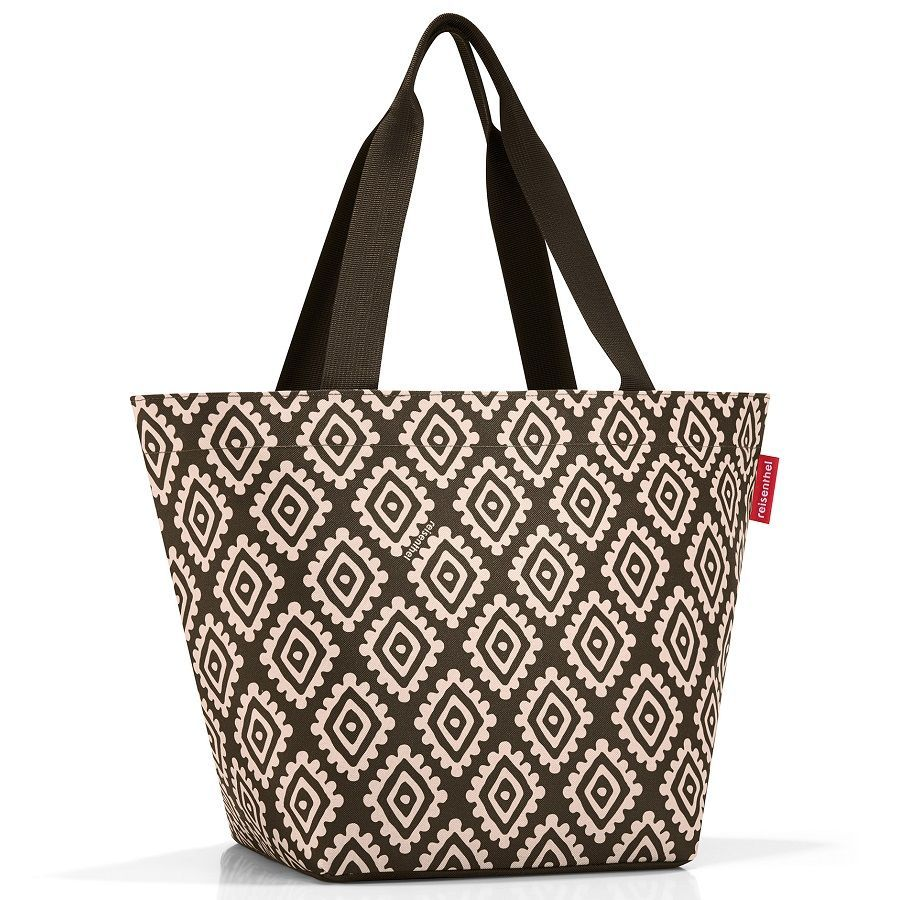 Сумка shopper m diamonds mocha