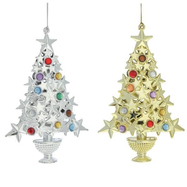 Уличные новогодние украшения на елку